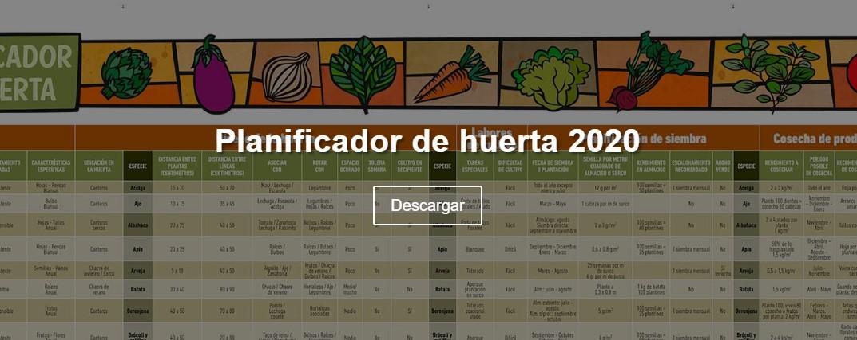 Planificador Huerta 2020